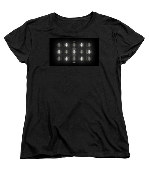 Wall Of Roundels - 5x3 Women's T-Shirt (Standard Fit)