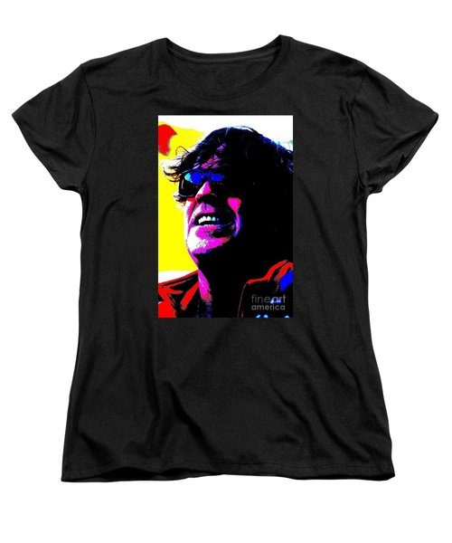 Women's T-Shirt (Standard Cut) featuring the photograph Warhol Robbie by Jesse Ciazza
