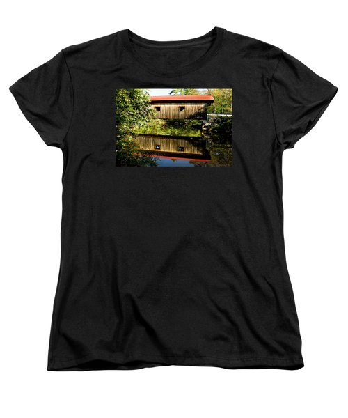 Warner Covered Bridge Women's T-Shirt (Standard Cut)