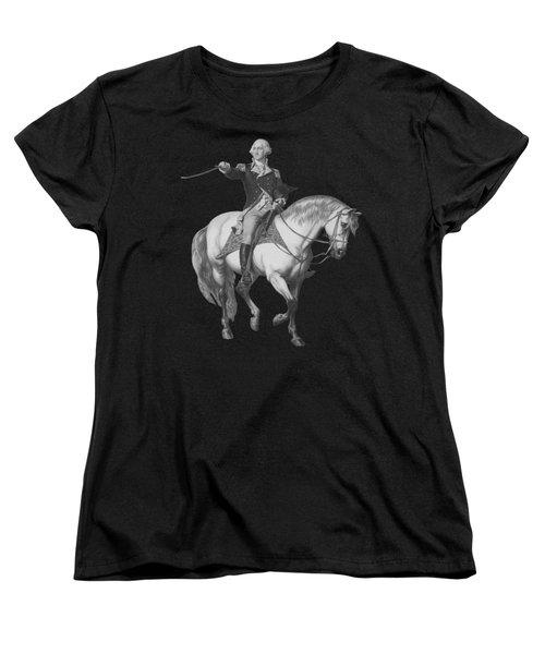 Washington Receiving A Salute At Trenton Women's T-Shirt (Standard Fit)