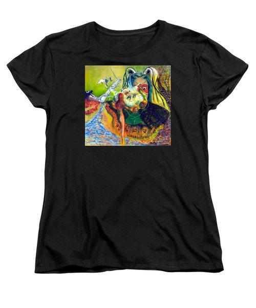 Watcher Of The Skies Women's T-Shirt (Standard Cut) by Albert Puskaric