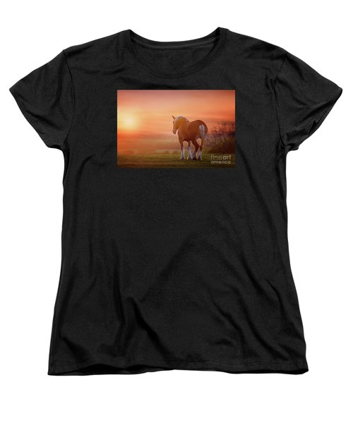 Watching The Sunset Women's T-Shirt (Standard Cut) by Tamyra Ayles