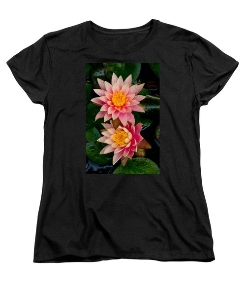 Water Lilies Women's T-Shirt (Standard Cut) by Brent L Ander