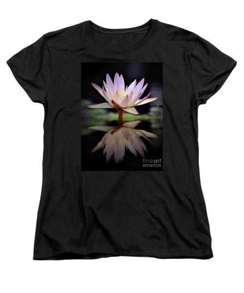 Women's T-Shirt (Standard Cut) featuring the photograph Water Lily by Savannah Gibbs