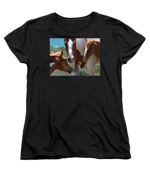 Watizit Women's T-Shirt (Standard Cut) by Bill Stephens