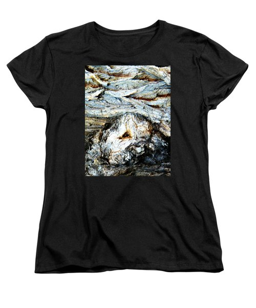 Waves Are My Blanket Women's T-Shirt (Standard Cut) by Lenore Senior