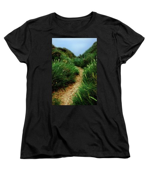 Way Through The Dunes Women's T-Shirt (Standard Cut) by Hannes Cmarits