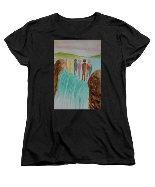 We Are All The Same 1.2 Women's T-Shirt (Standard Cut) by Tim Mullaney