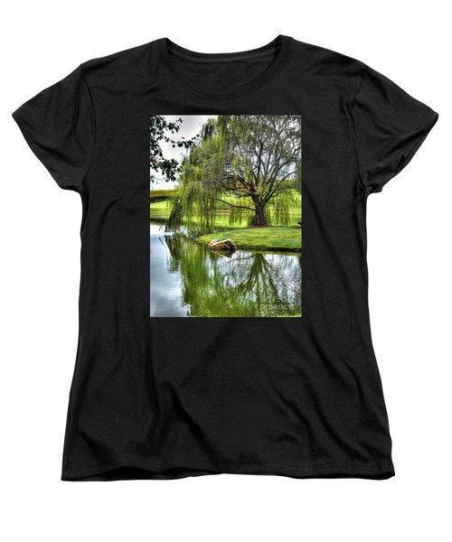Weep No More Women's T-Shirt (Standard Cut) by Christy Ricafrente