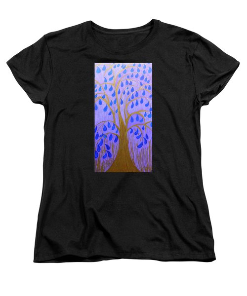 Weeping Tree Women's T-Shirt (Standard Cut)