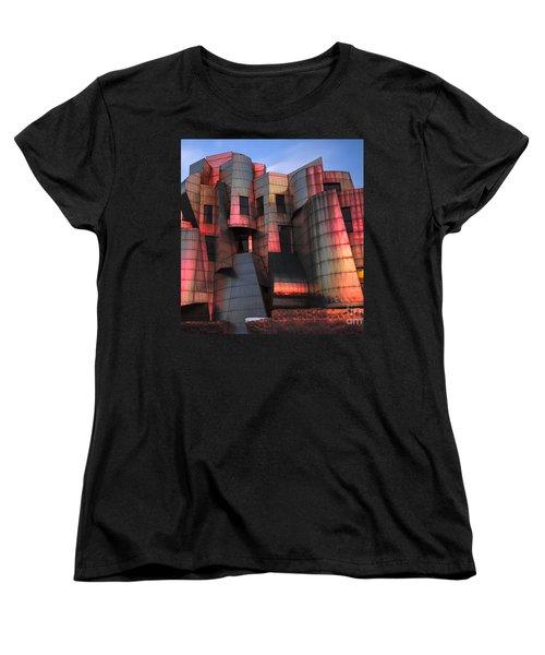 Weisman Art Museum At Sunset Women's T-Shirt (Standard Cut) by Craig Hinton