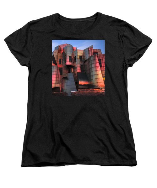 Weisman Art Museum At Sunset Women's T-Shirt (Standard Cut)