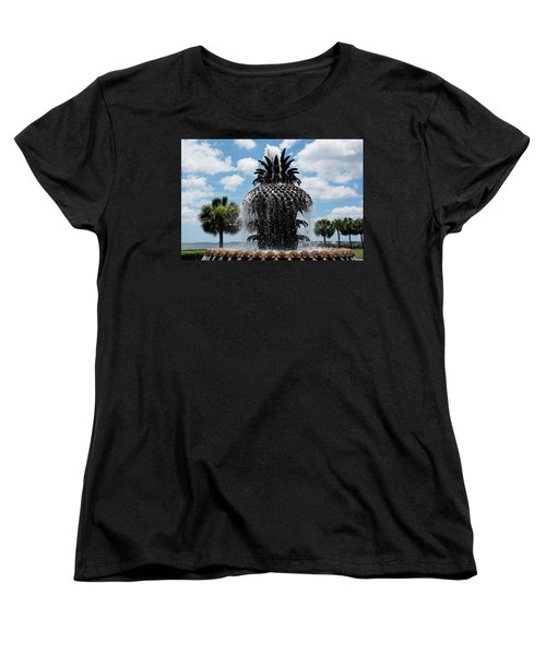 Welcome Y'all Women's T-Shirt (Standard Cut) by Ed Waldrop