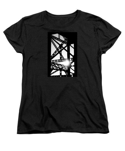 Women's T-Shirt (Standard Cut) featuring the photograph Welded by Scott Rackers