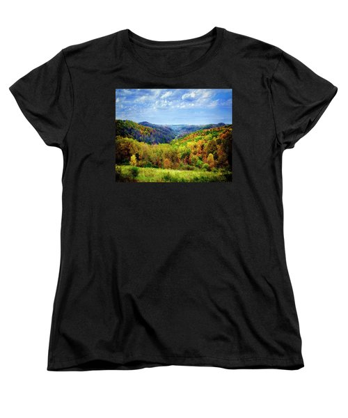 West Virginia Women's T-Shirt (Standard Cut) by Mark Allen