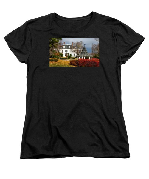 Women's T-Shirt (Standard Cut) featuring the photograph Westglow In Autumn by Karen Wiles