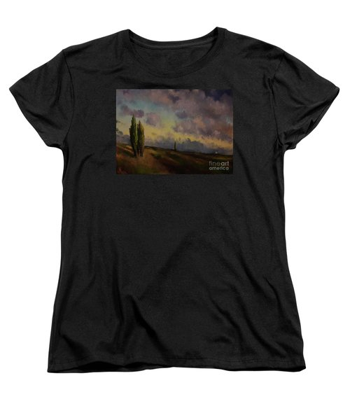 Wet Sky Women's T-Shirt (Standard Cut)