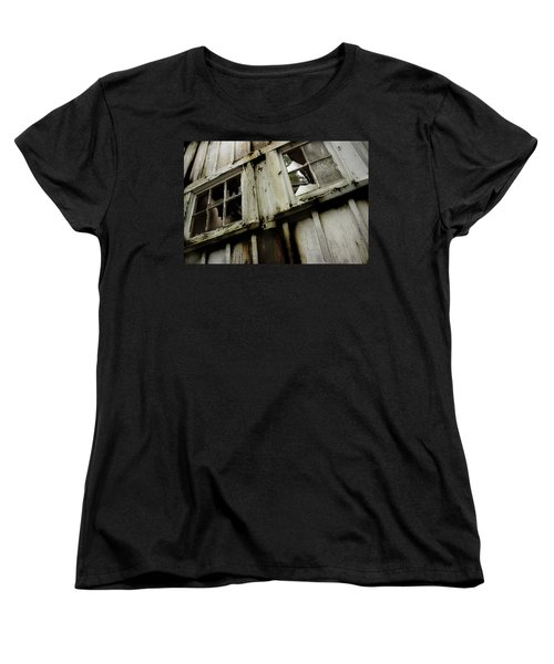 Women's T-Shirt (Standard Cut) featuring the photograph What Lies Within by Mike Eingle