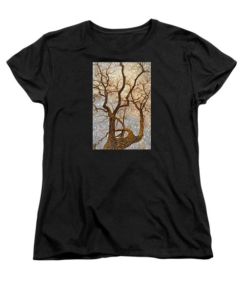 What We See The Mind Believes Women's T-Shirt (Standard Cut) by James Steele