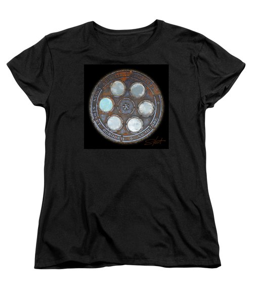 Wheel 2 Women's T-Shirt (Standard Cut) by Charles Stuart