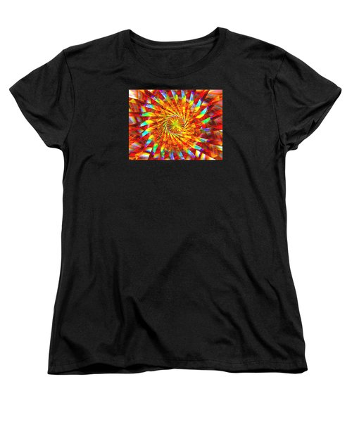 Wheel Of Light Women's T-Shirt (Standard Cut) by Andreas Thust