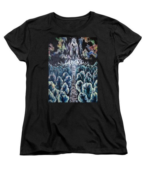 When The Journey Is Done Women's T-Shirt (Standard Cut) by Cheryl Pettigrew