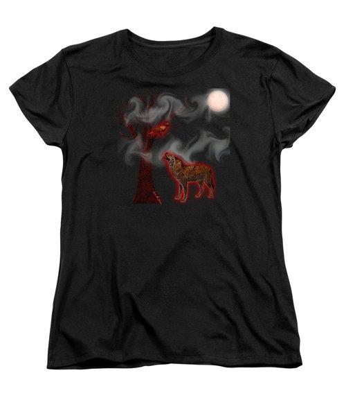Where Familiars Meet Women's T-Shirt (Standard Cut) by Iowan Stone-Flowers
