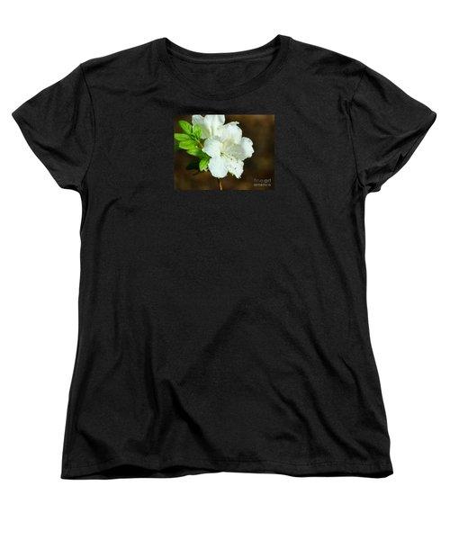 White Azalea  Women's T-Shirt (Standard Cut)