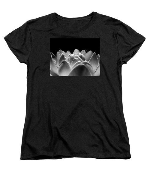 White Lotus In Night Women's T-Shirt (Standard Cut) by Sumit Mehndiratta