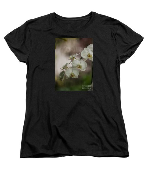White Of The Evening Women's T-Shirt (Standard Cut) by Mike Reid