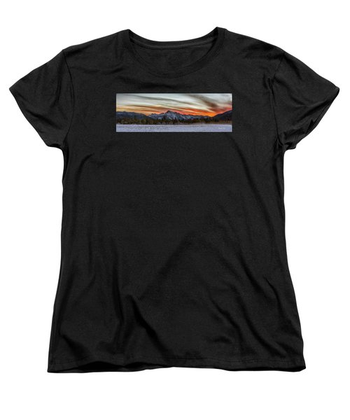 Whitehorse Sunset Panorama Women's T-Shirt (Standard Cut)
