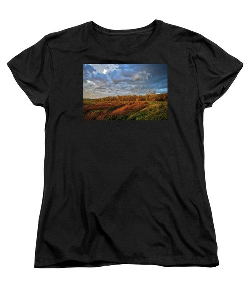 Who Has Seen The Wind? Women's T-Shirt (Standard Cut) by Keith Boone