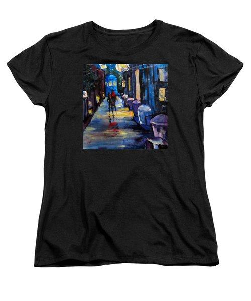 Who's Heading Back Women's T-Shirt (Standard Cut) by Barbara O'Toole