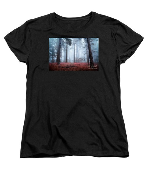 Why Is Sting Glowing Blue? Women's T-Shirt (Standard Cut) by Giuseppe Torre