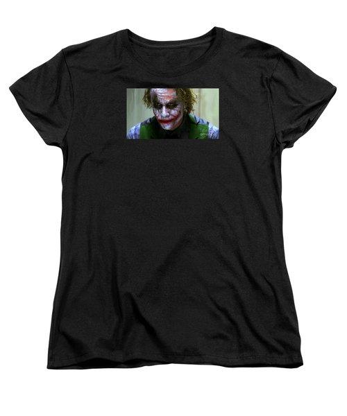 Why So Serious Women's T-Shirt (Standard Cut)