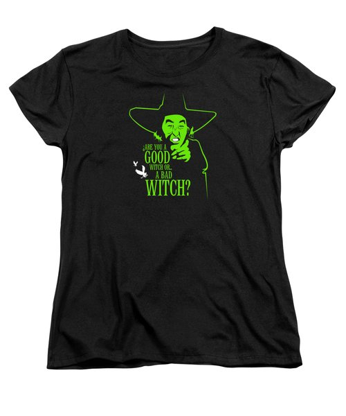 Wicked Witch Of West Women's T-Shirt (Standard Cut) by Mos Graphix