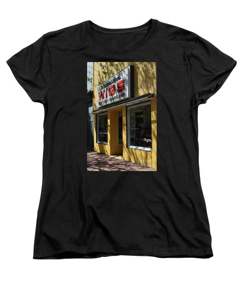 Women's T-Shirt (Standard Cut) featuring the photograph Wigs by Skip Willits