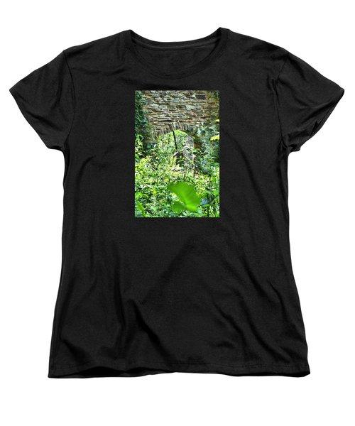 Wilderness Portal Women's T-Shirt (Standard Cut) by James Potts