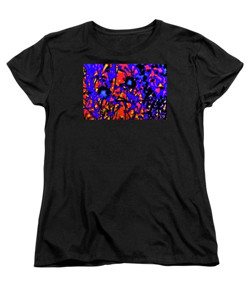 Wildflower Medley Women's T-Shirt (Standard Cut) by Gina O'Brien