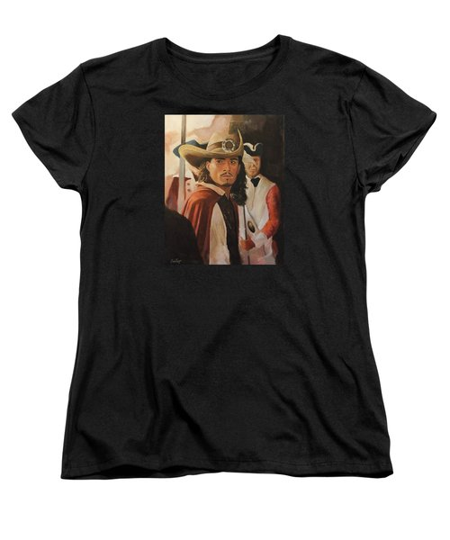 Will Turner Women's T-Shirt (Standard Cut) by Caleb Thomas