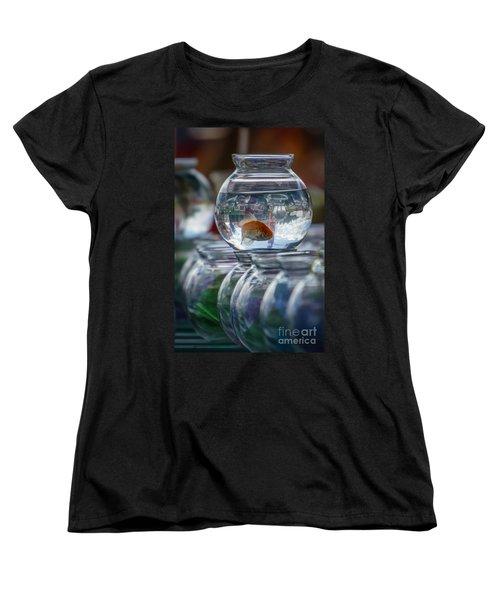 Win A Goldfish Women's T-Shirt (Standard Cut)