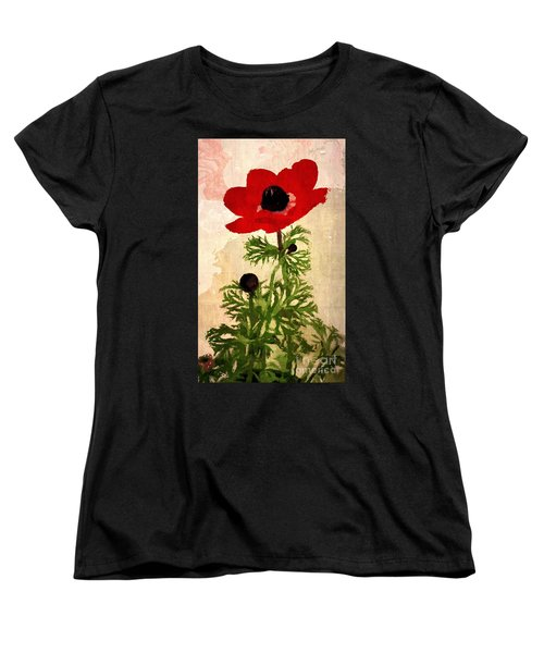 Wind Flower Women's T-Shirt (Standard Cut) by Alexis Rotella