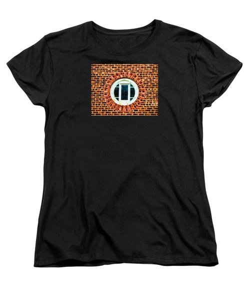 Window Shapes In And Around Women's T-Shirt (Standard Cut) by Gary Slawsky