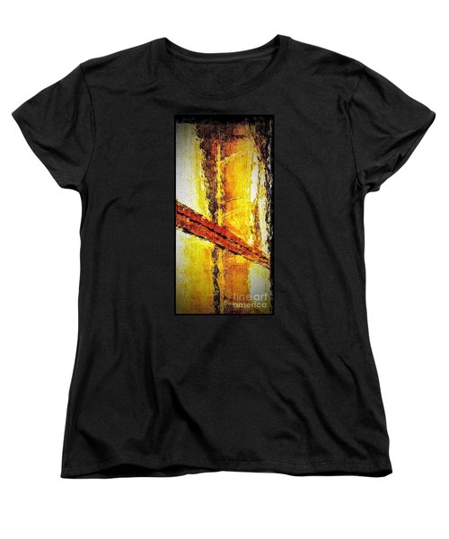 Women's T-Shirt (Standard Cut) featuring the photograph Window by William Wyckoff