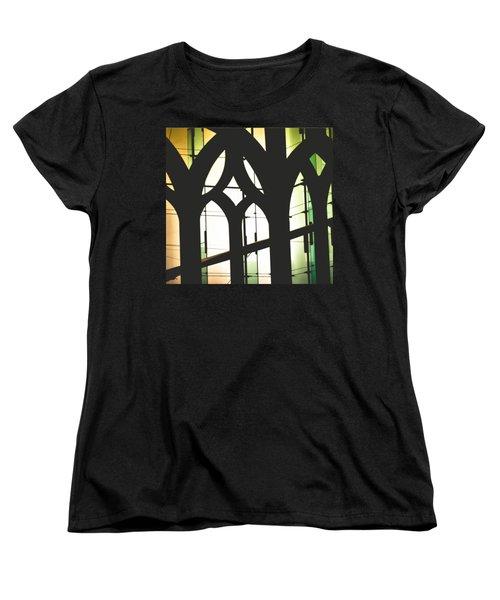 Windows Women's T-Shirt (Standard Cut) by Melissa Godbout