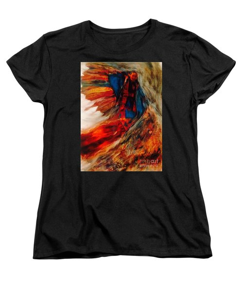 Winged Ones Women's T-Shirt (Standard Cut) by FeatherStone Studio Julie A Miller