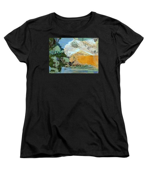 Winter Fantasy Women's T-Shirt (Standard Cut) by Nancy Kane Chapman