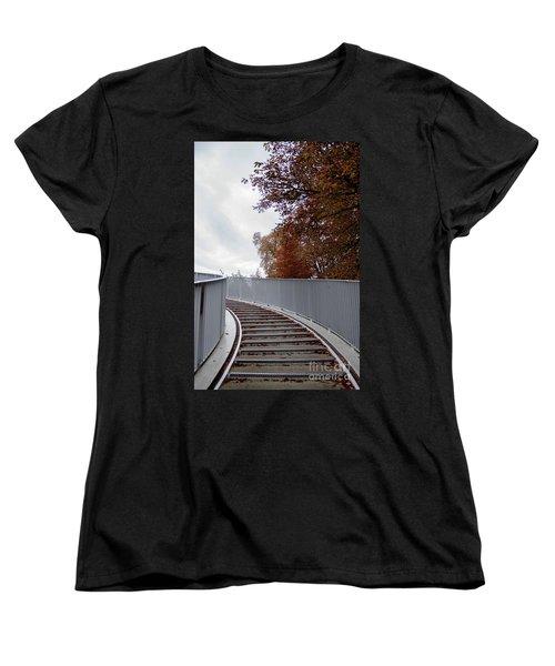Winter Is Around The Corner Women's T-Shirt (Standard Cut) by Ana Mireles