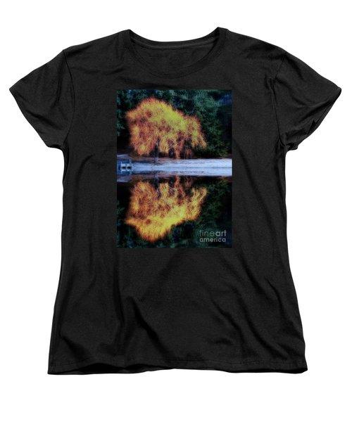 Winters' Embers Women's T-Shirt (Standard Cut) by Kym Clarke