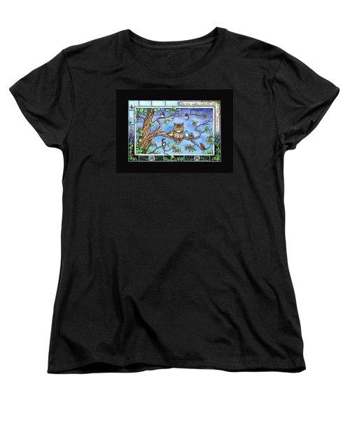 Wise Guys Women's T-Shirt (Standard Cut) by Retta Stephenson